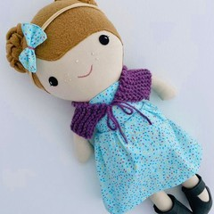 """""""Annie"""" doll by Koko and Joey"""