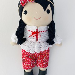 """Luanna"" Doll by Koko and Joey"