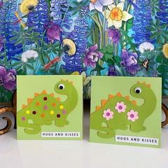 Greeting Card  -Dinosaur Party - Dino Birthday Card - Boy or Girl