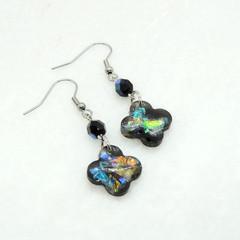 Black opal drops - flower