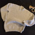 Men's classic knitted jumper