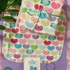 Hearts 15 pack unpaper towels
