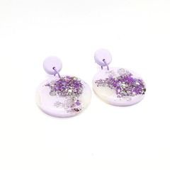 Resin - Lilac sparkle