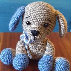 Crochet Puppy Toy, Soft Puppy, Kids Puppy Softie, Puppy Amigurumi, Amigurumi