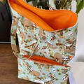 Sloth Tote Bag / Library Bag (Fully Lined)
