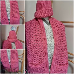 Pocket scarf & Beanie set