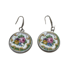 Floral Bouquet Earrings Large