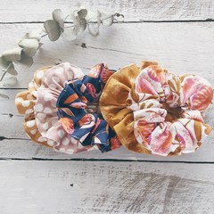 Scrunchies: Florals and Spots $5.00 Each