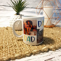 FATHER'S DAY PERSONALISED PHOTO COLLAGE COFFEE MUG