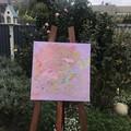 """'Lavender Fields' Thin Edge Canvas 16x16"""""""