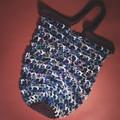 'I Love Shopping' Crochet Market Bag