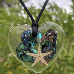 Resin Necklace Mermaid Vibes  ~ Variety of options