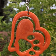 Paw Heart KEY CHAIN ~ Resin ~ Accessory