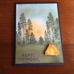 Camping Gift Card