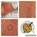 'Baby Arcadia' Heirloom quality Handmade Baby Blanket 100% Acrylic