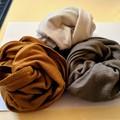 100% Merino 150 cm infinity scarf.