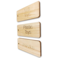 Personalised Wooden Tags