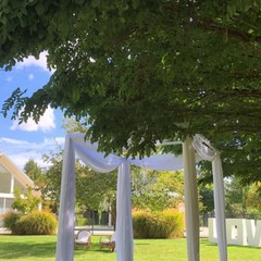 Outdoor White Draping #1200