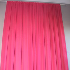 Hot Pink Wall Draping & Backdrop- #7800