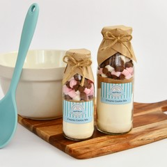S'MORES Cookie Mix in a bottle. - makes 6 or 12 delicious cookies.