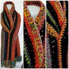 Black Rainbow scarf
