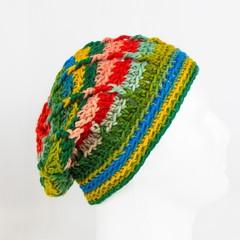 Schoppel Wolle Reggae ombre 100% merino wool adult hat
