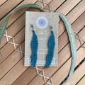 Gum Leaf Crochet Earrings 4 Ways
