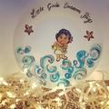 Disney - Hand painted personalized plates (keepsakes)