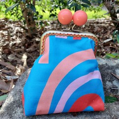 Apricot bead coin purse