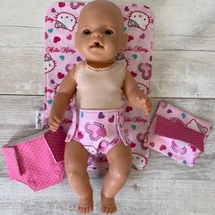 Dolls nappy changing station, Hello Kitty, pretend play, girls gift,