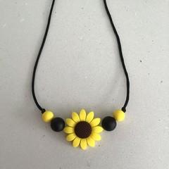 Sunflower Necklace Child 64cm