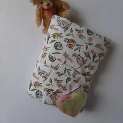 stylish handmade convenient Australian theme floral nappy wallet change mat gift