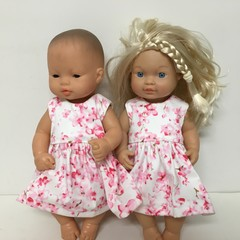 Miniland  and Wandering Tribe Dolls Dress to fit 32cm Dolls