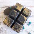 Galaxy Girl - Black Mica & Gold Soy Wax Melts - Light Fragrance