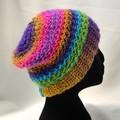 Hat 100% acrylic loose back