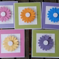 Handmade Card -Flower Card