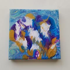 Allure 15cm x 15cm Canvas Art
