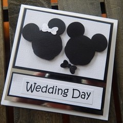 Handmade Card - Wedding Day Card