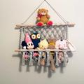 Macrame soft toy hanger