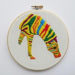 DIY Kit Squeezy the Zebra