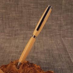 Rock Maple Slimline Twist Pen
