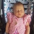 Crochet Baby Girls 100% Cotton Cardigan Baby Shower