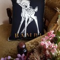 """""""Standing Bambi"""" Reversible Cushion Cover"""