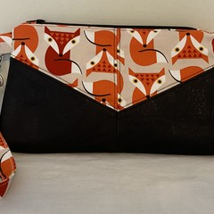 Foxy Lady Harlequin Pouch