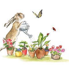 Art Print 'The Gardener'