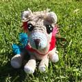 Lama Amigurumi, Soft-toy, handmade toy, kids toy