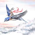 Art Print 'Flight of Fancy' A4