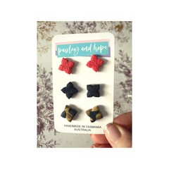 Polymer Clay Stud Pack #7