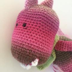 Rex the Dinosaur - crocheted toy