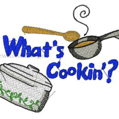 Machine Embroidery Design: What's Cookin'- instant digital download